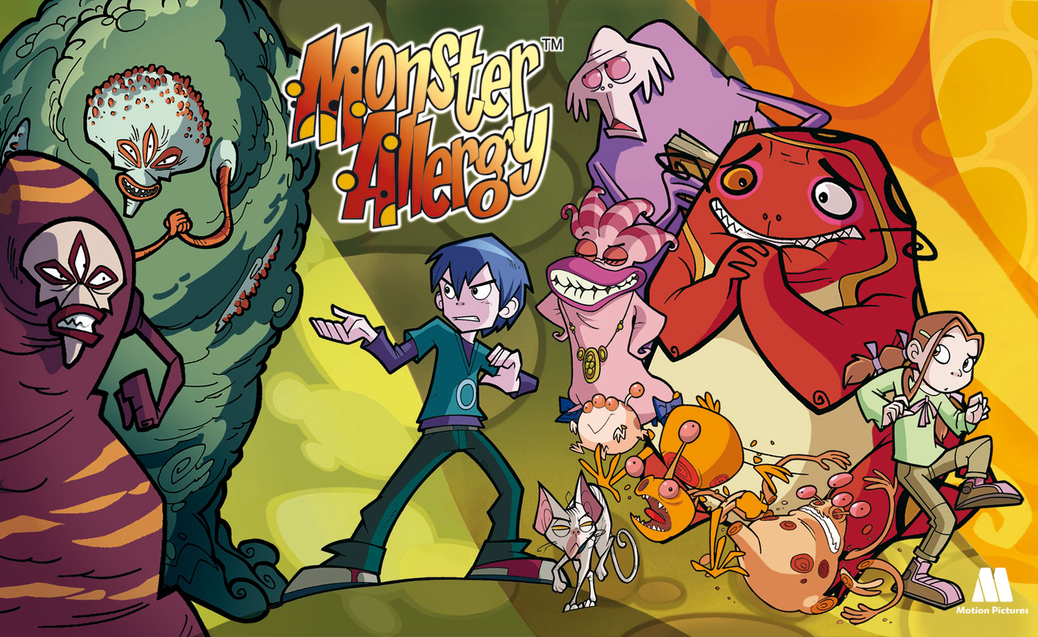 locandina di Monster Allergy il musical